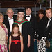 Faye Morrison, Sandy Morrison, Skye MacRae, Sandra Morrison, Calum Matheson, Amanda MacRae and Neil Morrison attend The Diamond, Coleraine to celebrate the graduations.