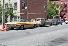 Life on Mars: Filming on Keap Street (Triborough) Tags: nyc newyorkcity ny newyork car brooklyn tv williamsburg production abc kingscounty lifeonmars