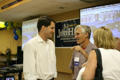 Jim Himes at Obama Watch Party