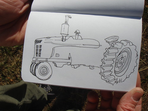 Ryan's tractor