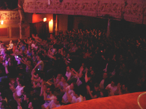 Audience at Stephen Lynch at the Olympia