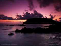 Dawn at Portixol Island (Salva del Saz) Tags: longexposure sea sky espaa orange seascape canon island eos coast spain mediterranean mediterraneo raw purple alba cove peach down alicante amanecer coastal isla 1022mm cala 1022 javea cokin efs1022mm xabia p121 nd8 singleraw 40d salvadelsaz gradualneutralgreyg2 salvdordelsaz