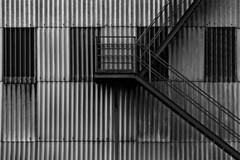 DUFFIELDS (Leo Reynolds) Tags: bw stairs photoshop canon eos iso100 f56 corrugated 135mm 30d 0ev 0006sec hpexif leol30random groupbw groupblackwhite groupsepiabw xleol30x xratio3x2x xxx2008xxx