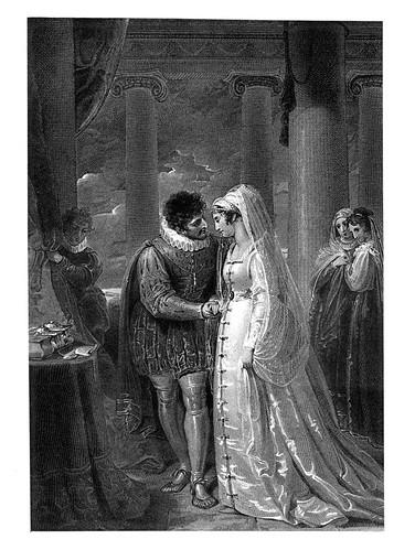 05 - El Mercader de Venecia- Act III Esc II- Una habitacion en la cas de Portia- Richard Westall