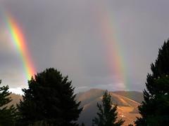 Double Rainbow and Mount Sentinel (patia) Tags: rainbow montana double m mount missoula bigsky veteran sentinel veteranscemetery