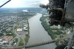 Deleware River (PHLAIRLINE.COM) Tags: plane aviation flight airline planes trenton bizjet ttn trentonmercerairport