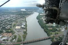 Deleware River (PHLAIRLINE.COM) Tags: plane aviation flight airline planes trenton bizjet ttn trentonmercerairport