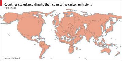 carbon emission per country