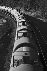 2340 - Along the Rails, tank cars (Artistic Pursuits-Rob Strovers) Tags: blackandwhite monochrome trains allrightsreserved railroads tankcars ontherails artisticpursuits robertdstrovers wwwartisticpursuitsnet allthingsrailroad