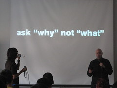 "David Usher and Mitch Joel: ask ""why"" not ""what"""