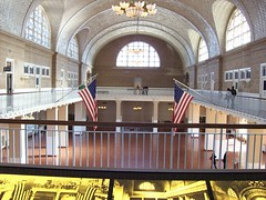 Great Hall, Ellis Island (22nyharborparks) Tags: park york nyc newyorkcity usa ny newyork museum nationalpark landmark immigration immigrant parkrangers nationalparksofnewyorkharbor
