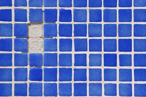 imperfect tile work