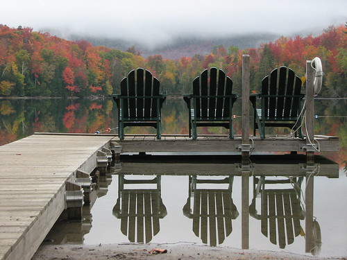 Three ADK chairs