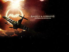 Angels & Airwaves (TysonIsKetchy) Tags: ava tom logo airplane angels airwaves delonge