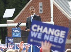 CHANGE... WE NEED! (Greg Adams Photography) Tags: october election political politics rally pa change 2008 democrat obama abington barack hhsc2000 election08 abingtonhighschool