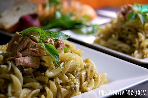 Tuna Pesto Pasta 5
