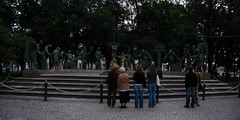 7325-7326 - Moscow - Bolotnaya Proshad - Children are the victims of adults' vices (thisisbossi) Tags: russia moscow statues moskva москва russland россия rossiya mihailchemiakin childrenarethevictimsofadultsvices bolotnayaproshad
