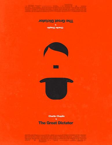 poster arte película El Gran Dictador