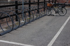 Estacin de bicis (Roco Mateo) Tags: miln bicis
