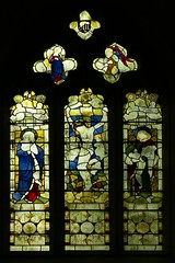 East window, All Saints - Yelvertoft