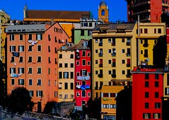 Houses of the old town centre  - 1 (cienne45) Tags: friends italy italia liguria cienne45 carlonatale genoa genova zena natale oldtowncentre fineartphotos mywinners xploremypix bonzag anawesomeshot infinestyle ghesemmu mybeautifultown