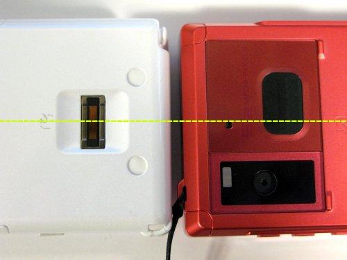 指紋認証センサの位置が絶妙 -centerline
