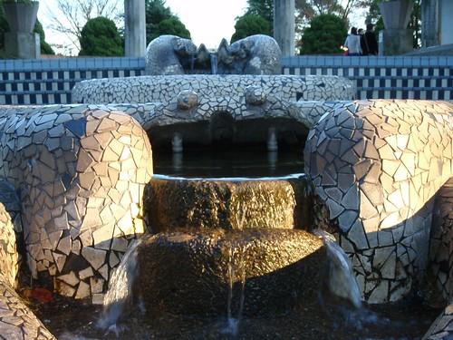 Fuente azulejos