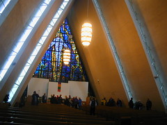 Inside Cathedral of the North, Tromsoe
