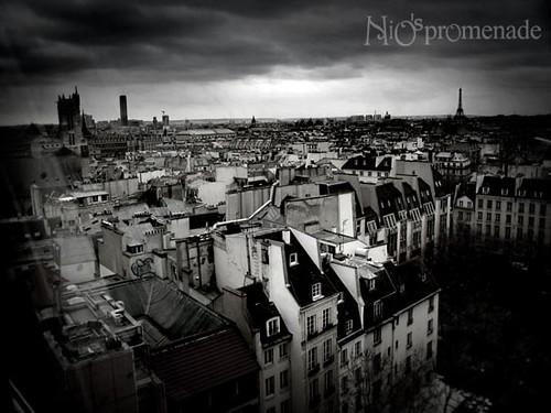 你拍攝的 Centre Pompidu。