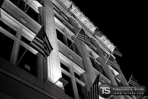 A Building's Patriotism