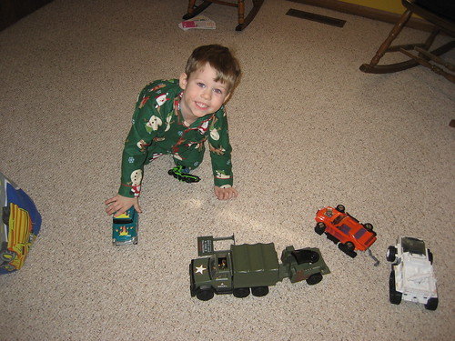 Benjamin introduced to GI Joe toys