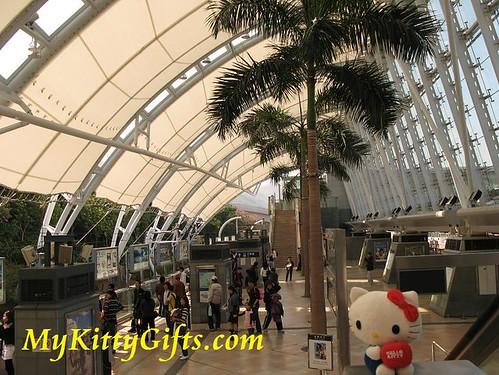 Hello Kitty in Sunny Bay MTR Station, Hong Kong