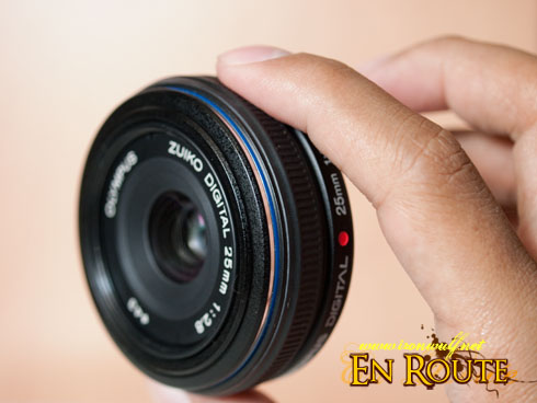 Olympus Zuiko 25mm f2.8 Pancake Lens