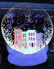 Baltimore snowglobe