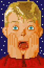 Home Alone (cuncunoide) Tags: pixel homealone