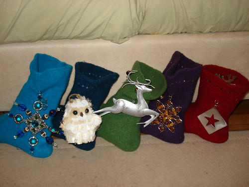 Finished Stockings