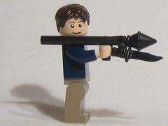 RPG with Bayonet? (SoundWavePanda) Tags: lego minifig sig modding figs prototypes brickarms