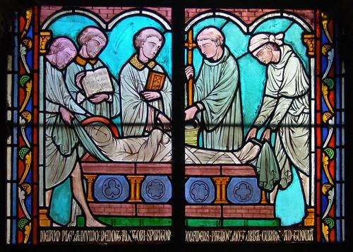 017- Vitral nº 17 claustro de Notre Dame de Paris