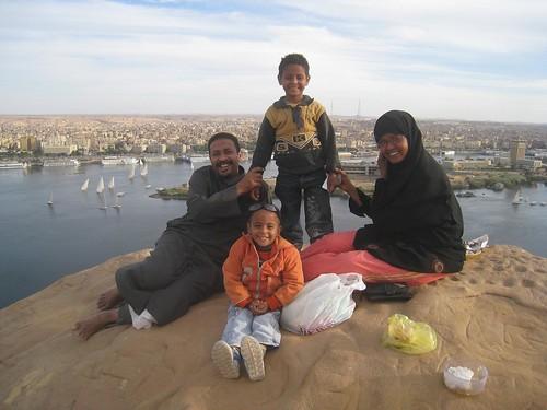 Nubian family