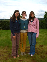 Anna, Marcie and I (Daisy Beetle Girl) Tags: friends river clyde september american 2008 lanarkshire clydevalley