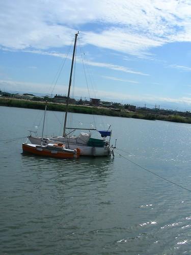 基隆河-船