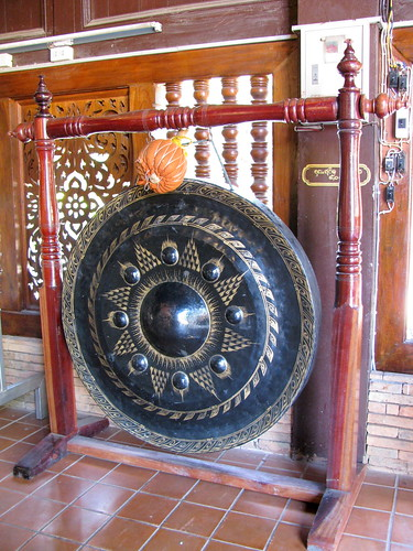 Anyone remember The Gong Show? How I longed to steal one of these from one of the temples. But that would be, um, so very wrong.
