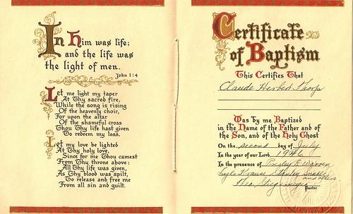 baptisimal