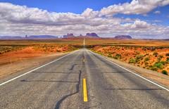 The Road to Monument Valley, UT (eDDie_TK) Tags: utah ut monumentvalleyut milemarker13 sanjuancountyut