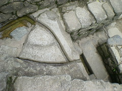 Water Channels in Machu Picchu