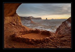False Kiva (Stephen Trainor) Tags: winter usa nature utah nikon seasons canyonlandsnationalpark 1224mmf4g d200 nikkor locations newyearsday occasions photographicequipment fpg falsekiva theperfectphotographer