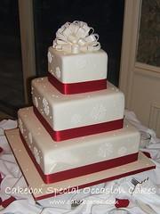 3158836002 6e1b2035c6 m Baú de ideias: Casamento vermelho e branco