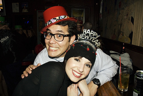 NYE at the Frolic Room in Hollywood