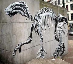 Street Art Brussels - Bonom (_Kriebel_) Tags: street brussels stencils art up graffiti stencil sticker belgium belgique paste belgi bruxelles brussel iguanodon pochoir pochoirs kriebel bonom