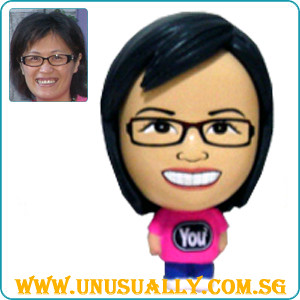 Custom Caricature You2 Mini Big Head Figurine Made To Look Like U !!!